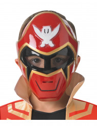 Maschera rossa per bambino Power Rangers™ Super Mega Force