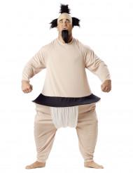 Costume da adulto lottatore di Sumo