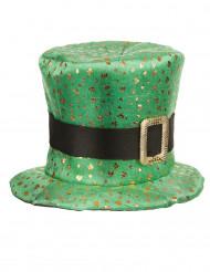 Cappello verde a cilindro per San Patrizio