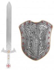Kit da cavaliere crociato per bambino