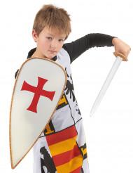 Costume e kit accessori cavaliere bambino