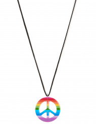 Collana hippie multicolor per adulto
