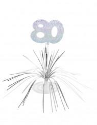 Centro tavola argentato 80 anni