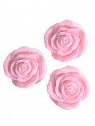24 rose di zucchero