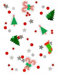 Coriandoli colorati a tema Natale
