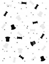 Coriandoli bianchi e neri per Capodanno