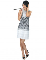 Costume stileCharleston bianco