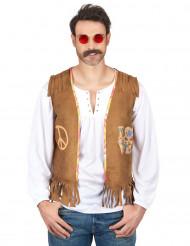 Gilet da hippie per adulto
