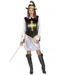 Costume per donna da moschettiere