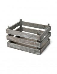 Piccola cassetta decorativa in legno