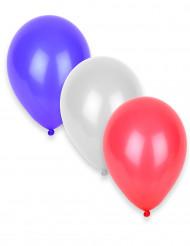 50 palloncini gonfiabili blu, bianchi e rossi