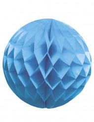 Sfera di carta di colore azzurro da 25 cm