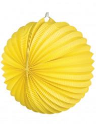 Lanterna tonda di color giallo misura 23 cm