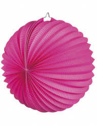 Lanterna sferica color fucsia 23 cm