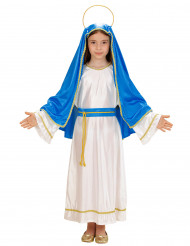 Costume da Maria per bambina Natale