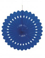 Rosa di carta di colore blu