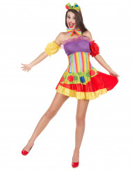 Costume clown per donna