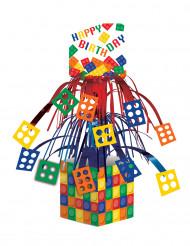 Centrotavola in tema costruzioni per compleanno