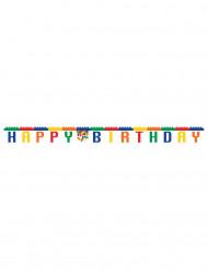 Ghirlanda Buon Compleanno Gioco di costruzione 2,5 m