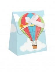 12 scatoline per regali Piccola Mongolfiera