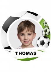 Disco di zucchero personalizzabile tema calcio