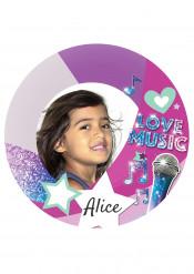 Disco di zucchero personalizzabile Love music