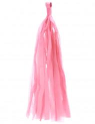6 ponpon a forma di nappa di colore rosa