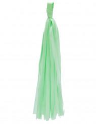 6 ponpon verde menta