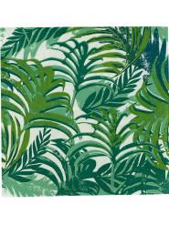 Confezione di 8 tovagliolini di carta Giungla Tropicale