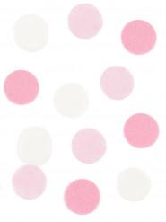Coriandoli di carta bianca e rosa 20 gr