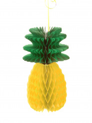 Decorazione ananas a nido d'ape 30 cm