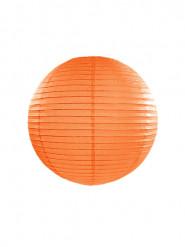 Lanterna giapponese color arancione da 25 cm