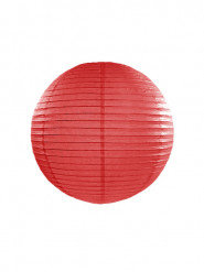 Lanterna giapponese rossa 25 cm