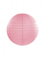 Lanterna giapponese rosa 25 centimetri