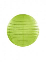 Lanterna giapponese color verde mela 25 cm