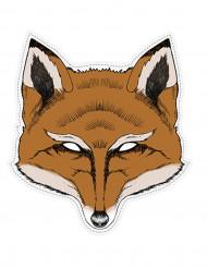 Maschera da volpe di carta