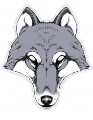 Maschera da lupo