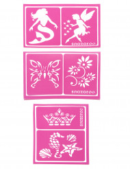 6 Stencil per ragazze Snazaroo™