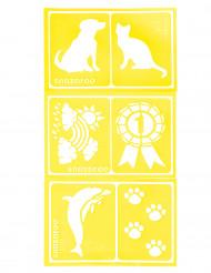 6 stencil trucco Snazaroo™