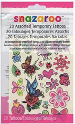 20 tatuaggi temporanei bambina Snazaroo™