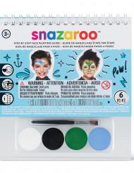 Mini kit per trucco bambini Snazaroo™ con libretto