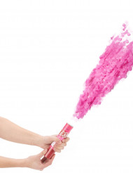 Cannone spara coriandoli di carta di colore rosa