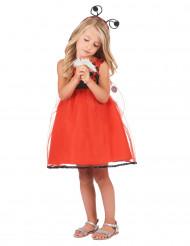 Vestito da coccinella per bambina