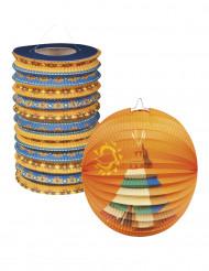 Lanterne decorative con gli Indiani d'America