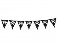Ghirlanda bandierine Pirati da 3,60 m