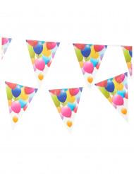 Ghirlande con bandierine palloncini volanti