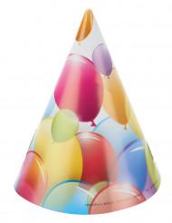 6 cappellini palloncini