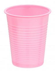 50 Bicchieri usa e getta rosa da 20 cl