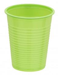 50 bicchieri in plastica color verde brillante da 20 cL