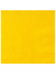 50 tovaglioli gialli 38 x 38 cm !